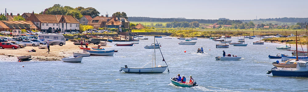 Boating at Burnham Overy Staithe