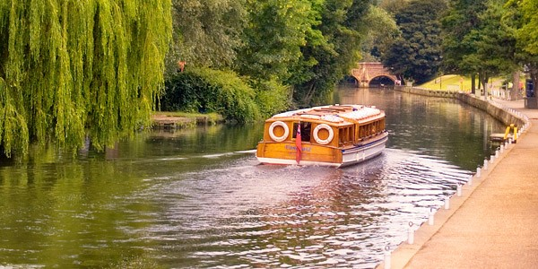 Boat cruise on the River Wensum