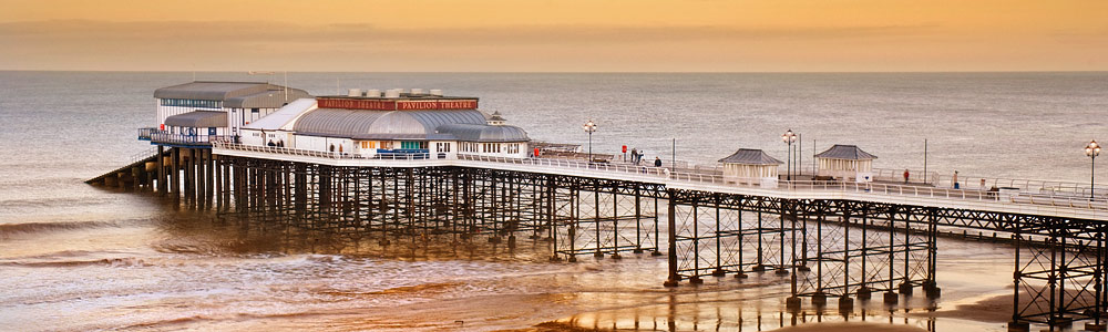 Cromer pier on the Norfolk Coast