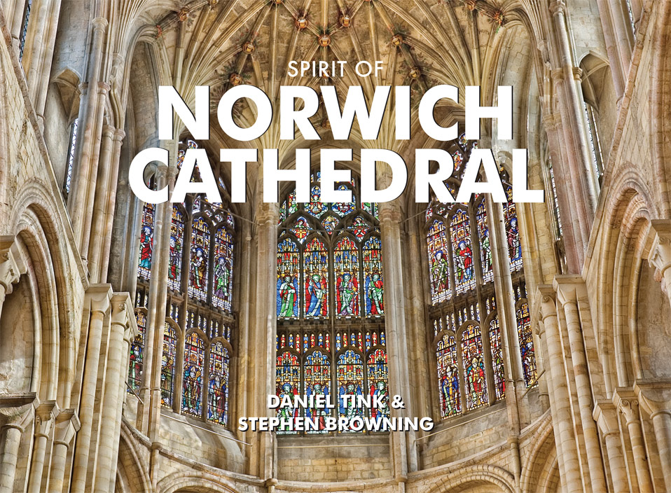 Spirit of Norwich Cathedral by Daniel Tink and Stephen Browning