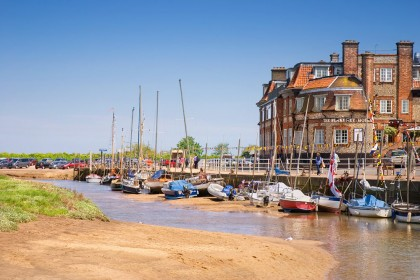 The Blakeney Hotel located on Blakeney Quay
