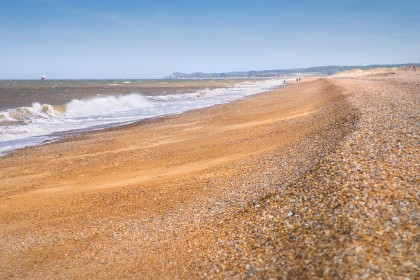 The beach at Cley next the Sea