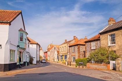 Cley next the Sea village