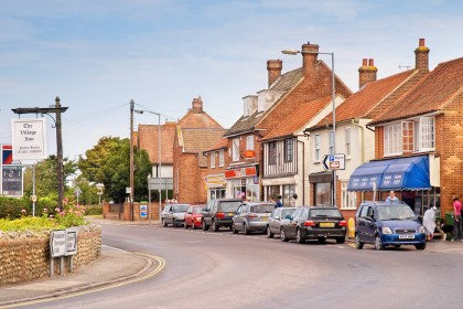 West Runton shops