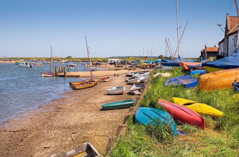 Ferry From Burnham Overy Staithe Harbour To Scolt Head Island