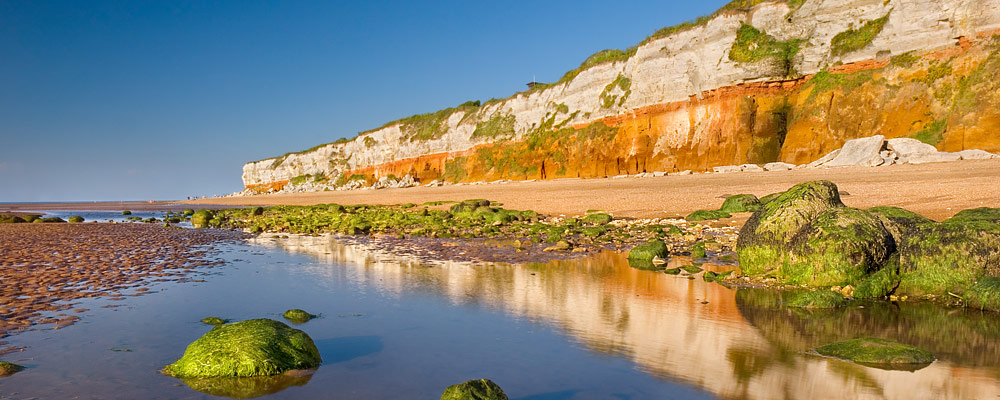 Cliffs at Hunstanton