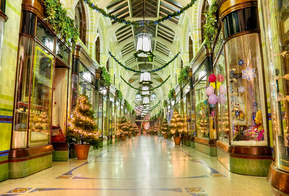 Christmas in the Royal Arcade, Norwich
