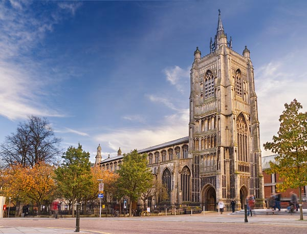 St Peter Mancroft Church in Norwich