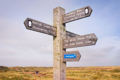 peddars-way-holme-signpost