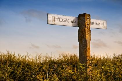 peddars-way-sign